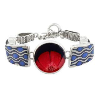 Bracelet Gombos Argent Multi