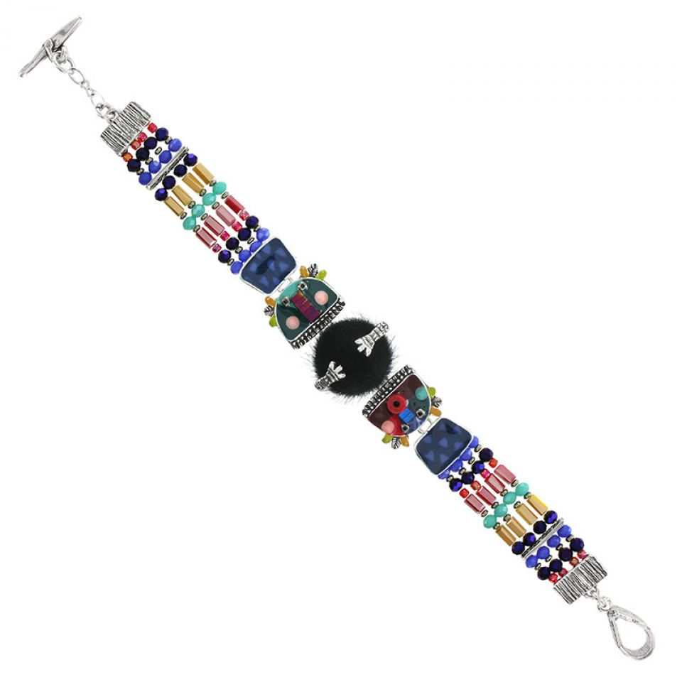 Bracelet Jobard Argent Multi Taratata Bijoux Fantaisie en ligne 3