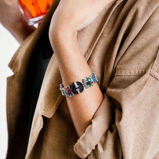 Bracelet Jobard Argent Multi