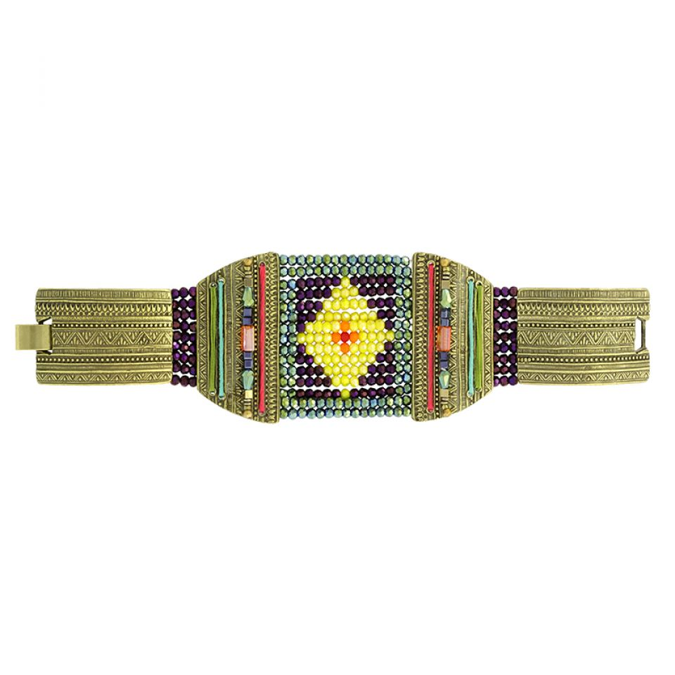 Bracelet Kilim Bronze Multi Taratata Bijoux Fantaisie en ligne 3