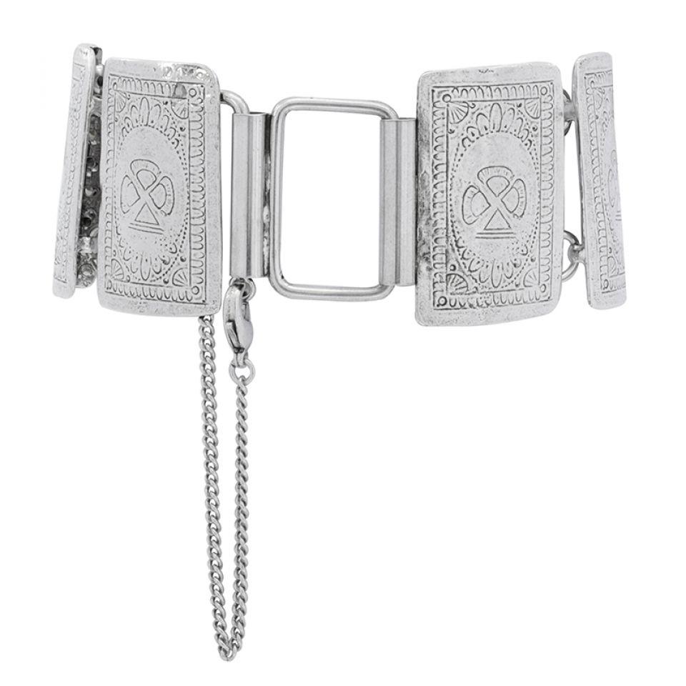 Bracelet L Impasse Argent Blanc Taratata Bijoux Fantaisie en ligne 5
