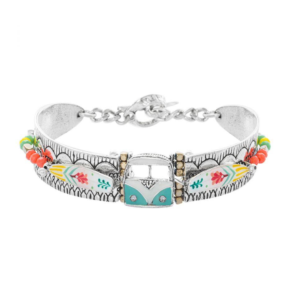 Bracelet La Vague Argente Multi Taratata Bijoux Fantaisie en ligne 3