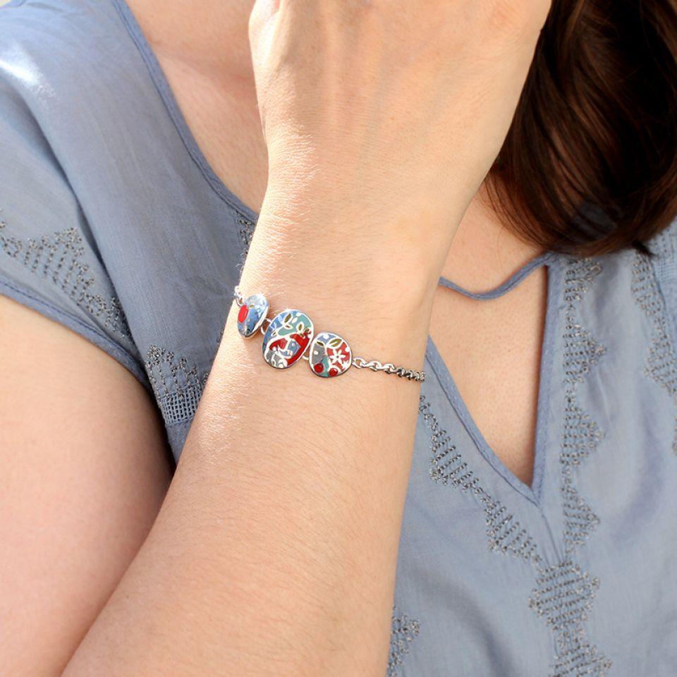 Bracelet  Liberty Multi Taratata Bijoux Fantaisie en ligne 1
