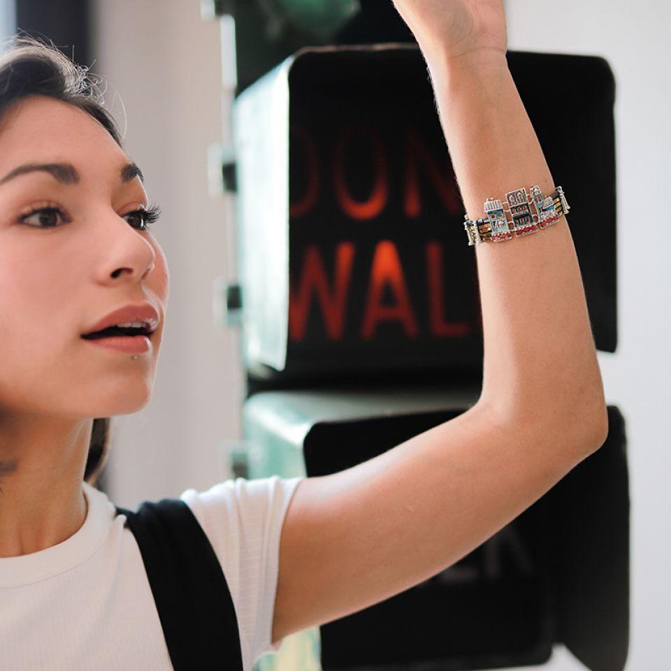 Bracelet Loft Argent Multi Taratata Bijoux Fantaisie en ligne 4