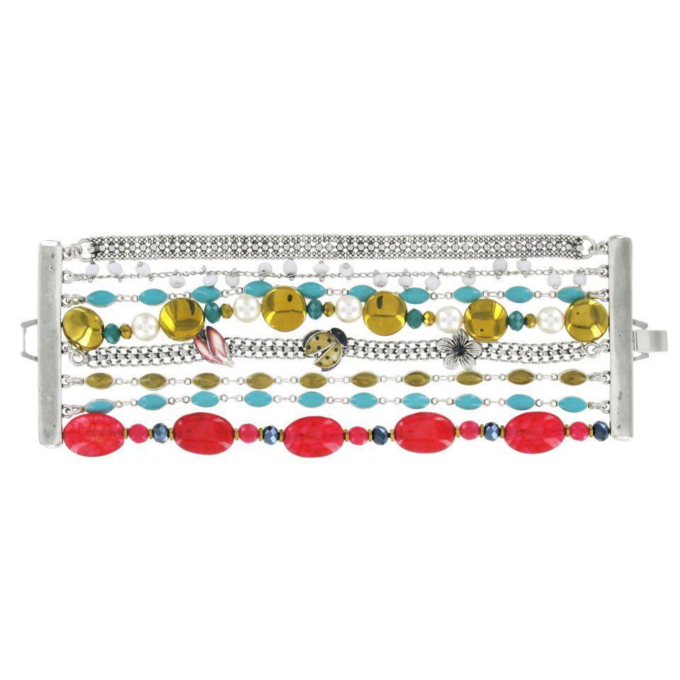 Bracelet Lucky Argent Multi Taratata Bijoux Fantaisie en ligne 1
