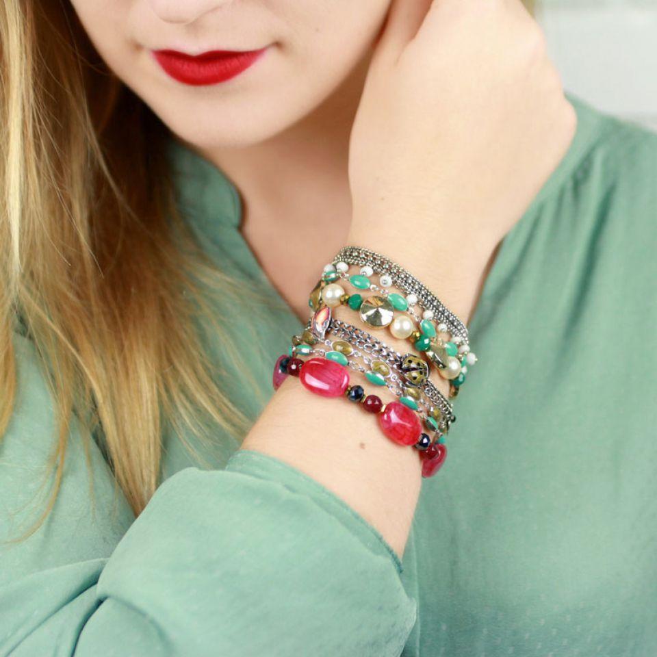 Bracelet Lucky Argent Multi Taratata Bijoux Fantaisie en ligne 2