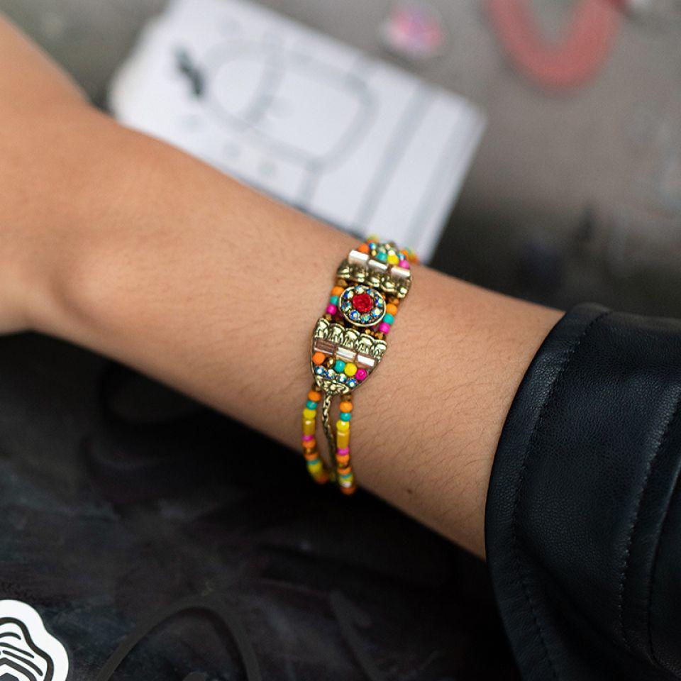 Bracelet Magdalena Bronze Multi Taratata Bijoux Fantaisie en ligne 2