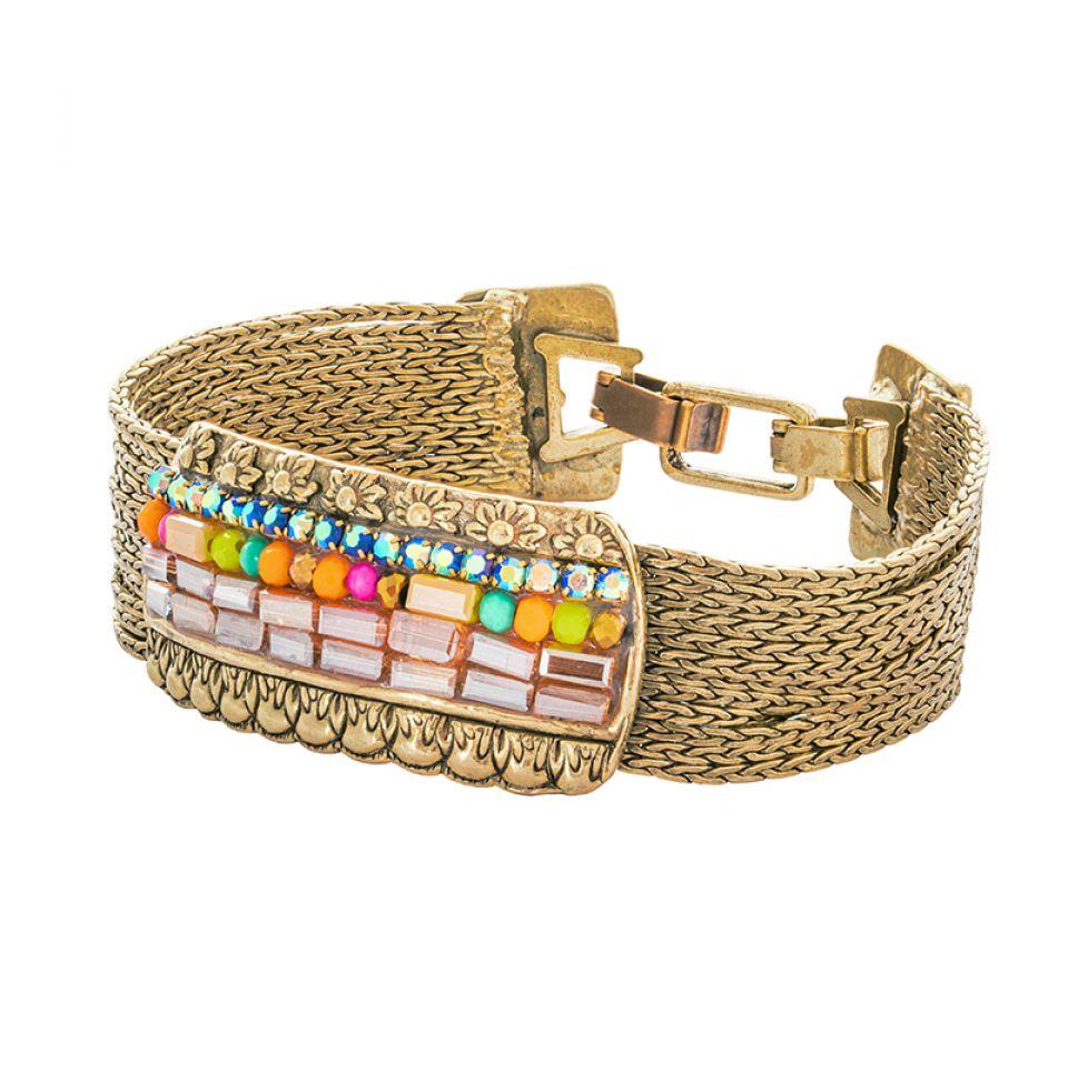 Bracelet Magdalena Bronze Multi Taratata Bijoux Fantaisie en ligne 1