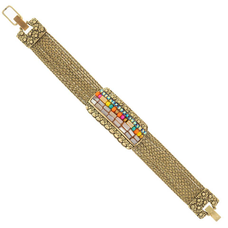 Bracelet Magdalena Bronze Multi Taratata Bijoux Fantaisie en ligne 5