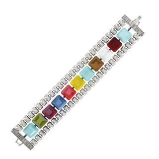 Bracelet Manhattan Argent Multi