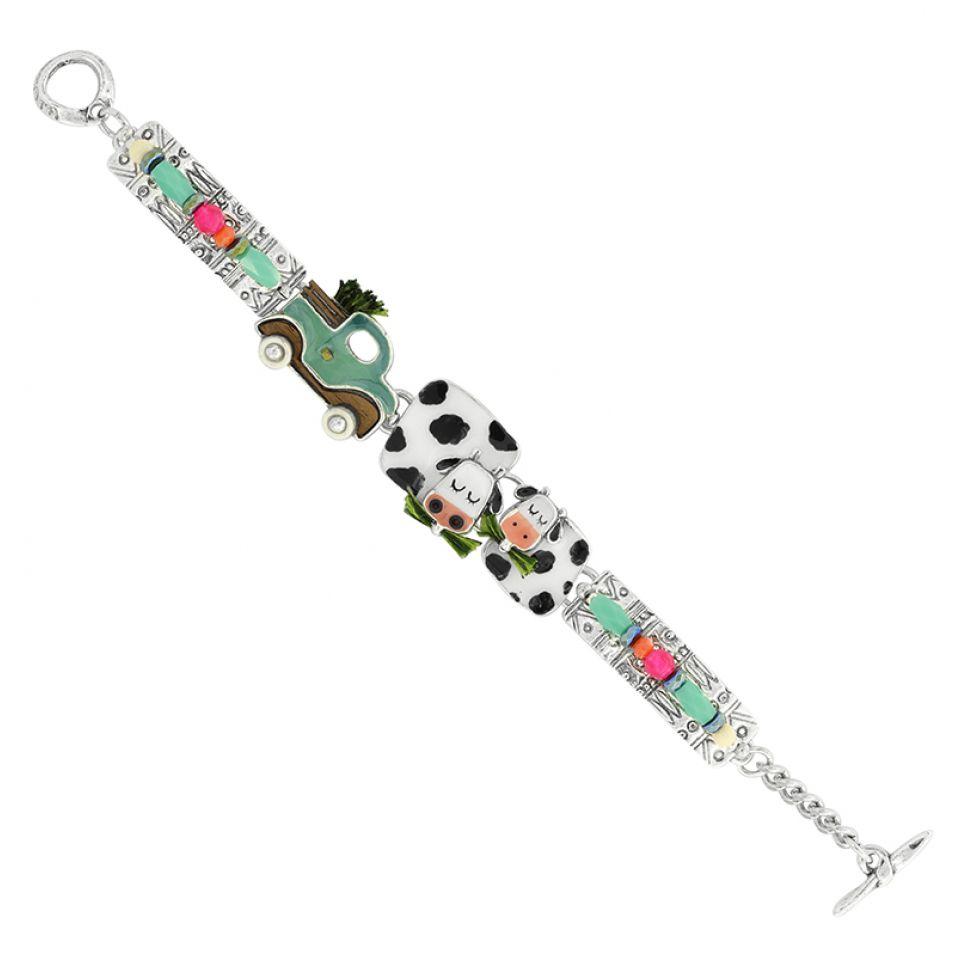 Bracelet Marguerite Argent Multi Taratata Bijoux Fantaisie en ligne 3