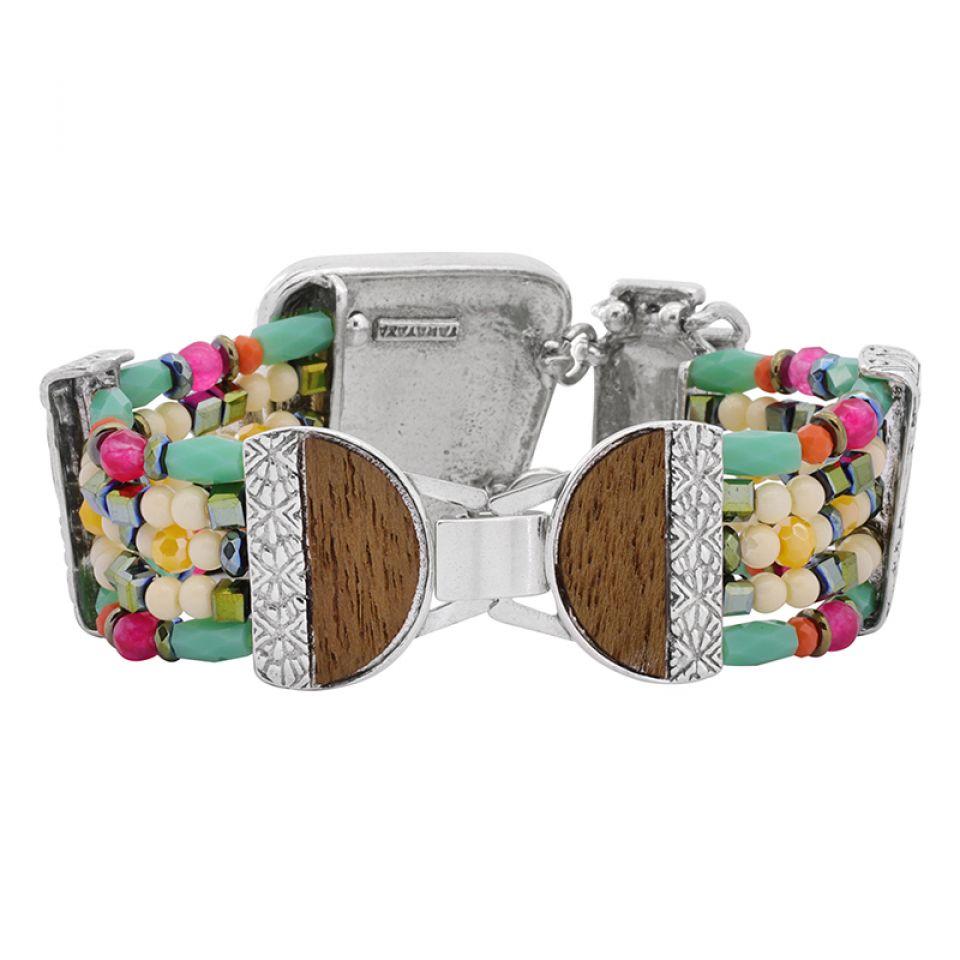 Bracelet Marguerite Argent Multi Taratata Bijoux Fantaisie en ligne 4