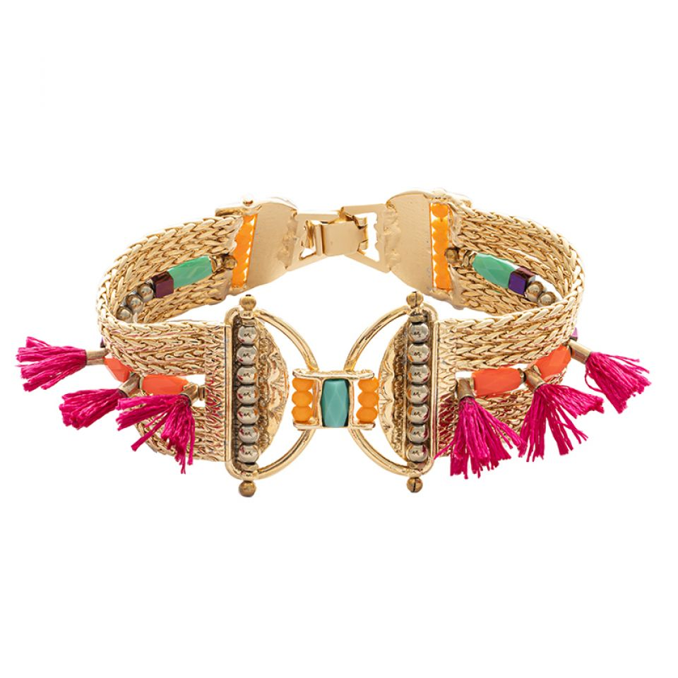 Bracelet Marie-rose Dore Multi Taratata Bijoux Fantaisie en ligne 3