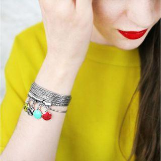 Bracelet Mogambo Argent Multi