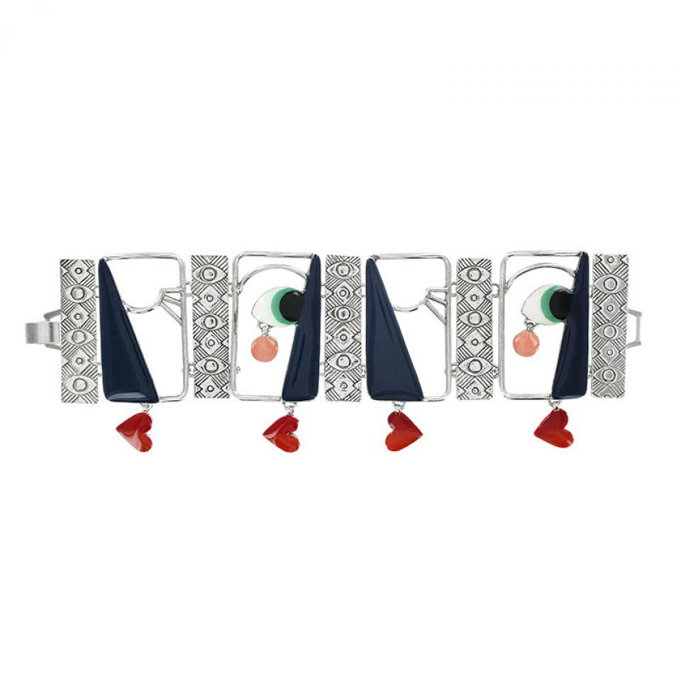 Bracelet Mon Oeil Argent Multi Taratata Bijoux Fantaisie en ligne 1