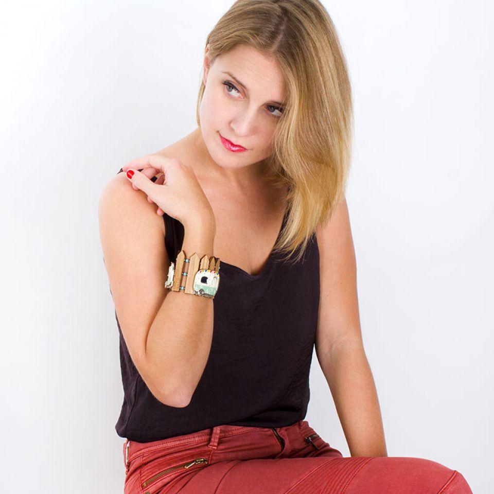 Bracelet Nationale 7 Argent Multi Taratata Bijoux Fantaisie en ligne 2