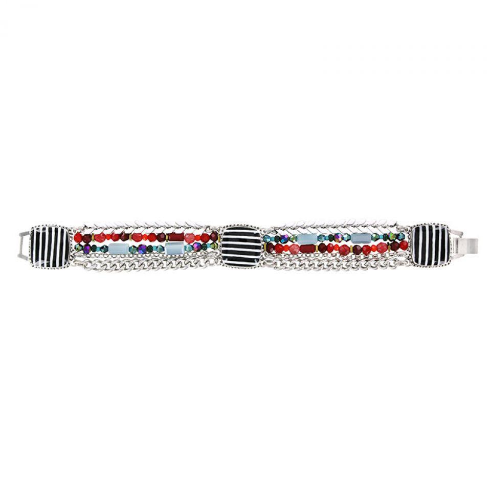 Bracelet Panam Argent Multi Taratata Bijoux Fantaisie en ligne 1