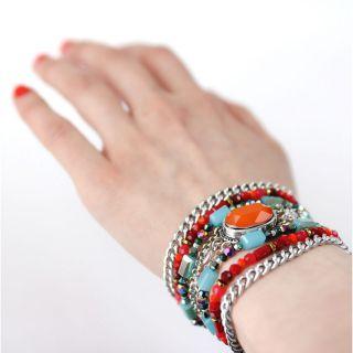 Bracelet Panam Argent Multi