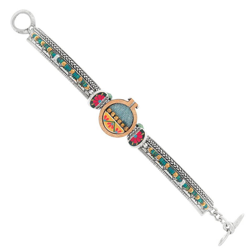 Bracelet Petit Point Argente Multi Taratata Bijoux Fantaisie en ligne 3