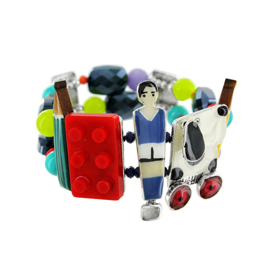 Bracelet Play Again Argent Multi Taratata Bijoux Fantaisie en ligne 1