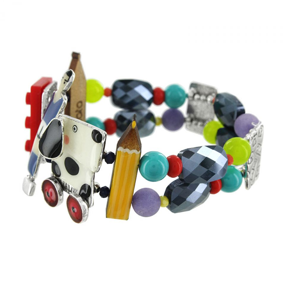 Bracelet Play Again Argent Multi Taratata Bijoux Fantaisie en ligne 4