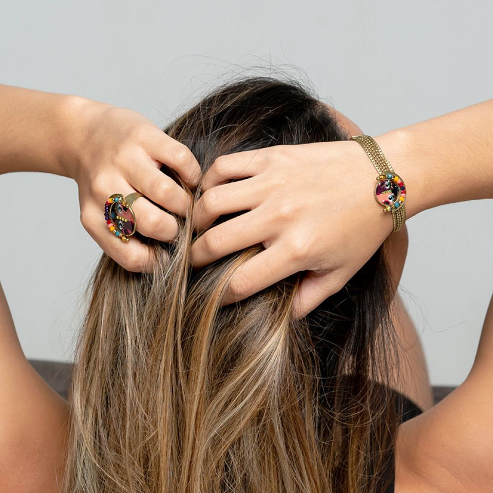 Bracelet Pleine Lune Bronze Multi Taratata Bijoux Fantaisie en ligne 2