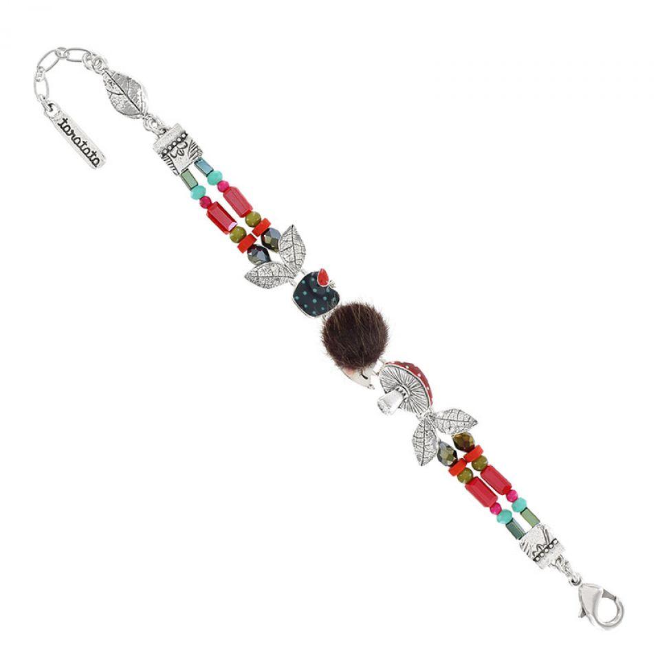Bracelet Qui S Y Frotte Argent Multi Taratata Bijoux Fantaisie en ligne 1