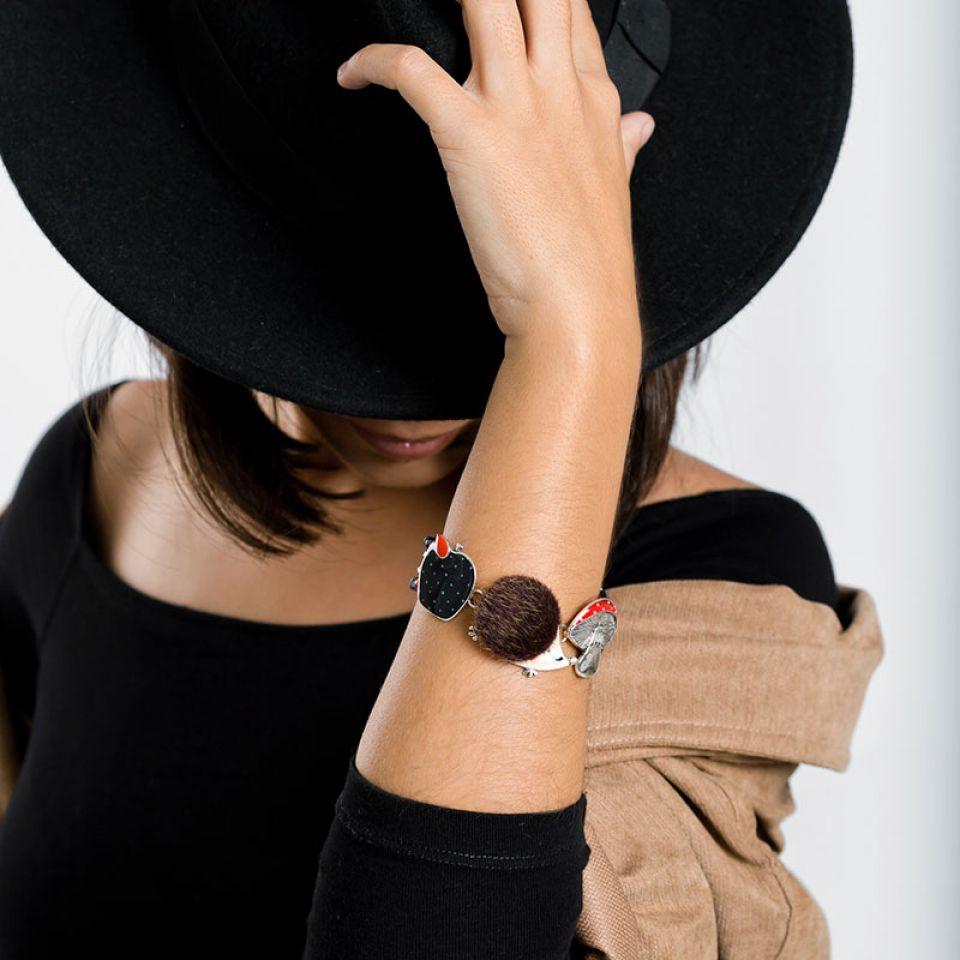 Bracelet Qui S Y Frotte Argent Multi Taratata Bijoux Fantaisie en ligne 2