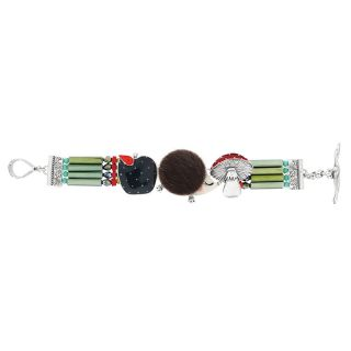 Bracelet Qui S Y Frotte Argent Multi