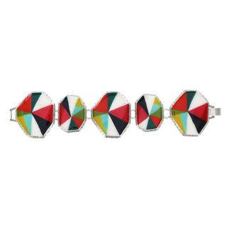 Bracelet Rainbow Argent Multi