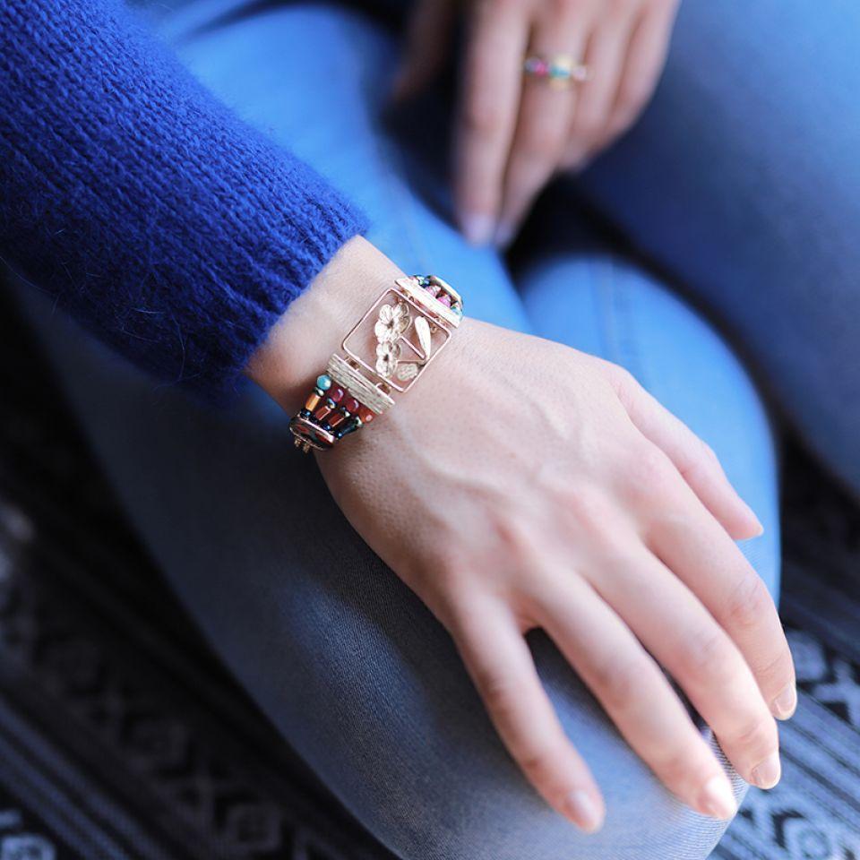 Bracelet Revolution Dore Multi Taratata Bijoux Fantaisie en ligne 1