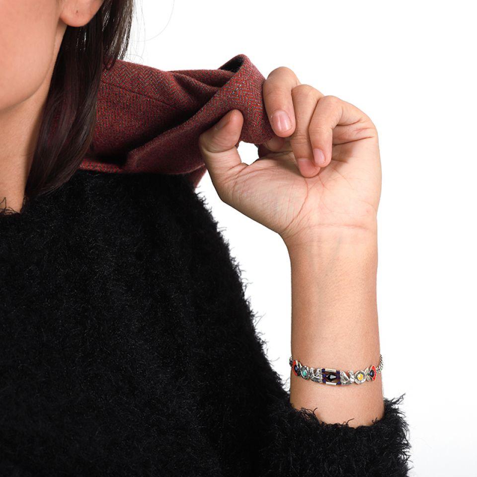 Bracelet Rive Gauche Argent Multi Taratata Bijoux Fantaisie en ligne 2