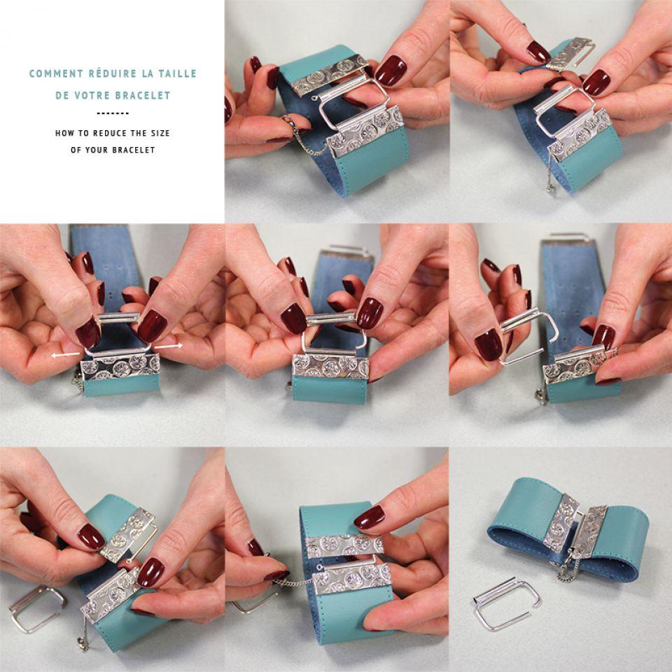 Bracelet Safran Argent Multi Taratata Bijoux Fantaisie en ligne 7