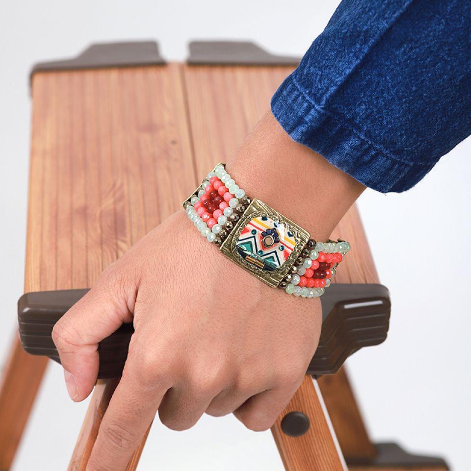 Bracelet Seville Bronze Multi Taratata Bijoux Fantaisie en ligne 1