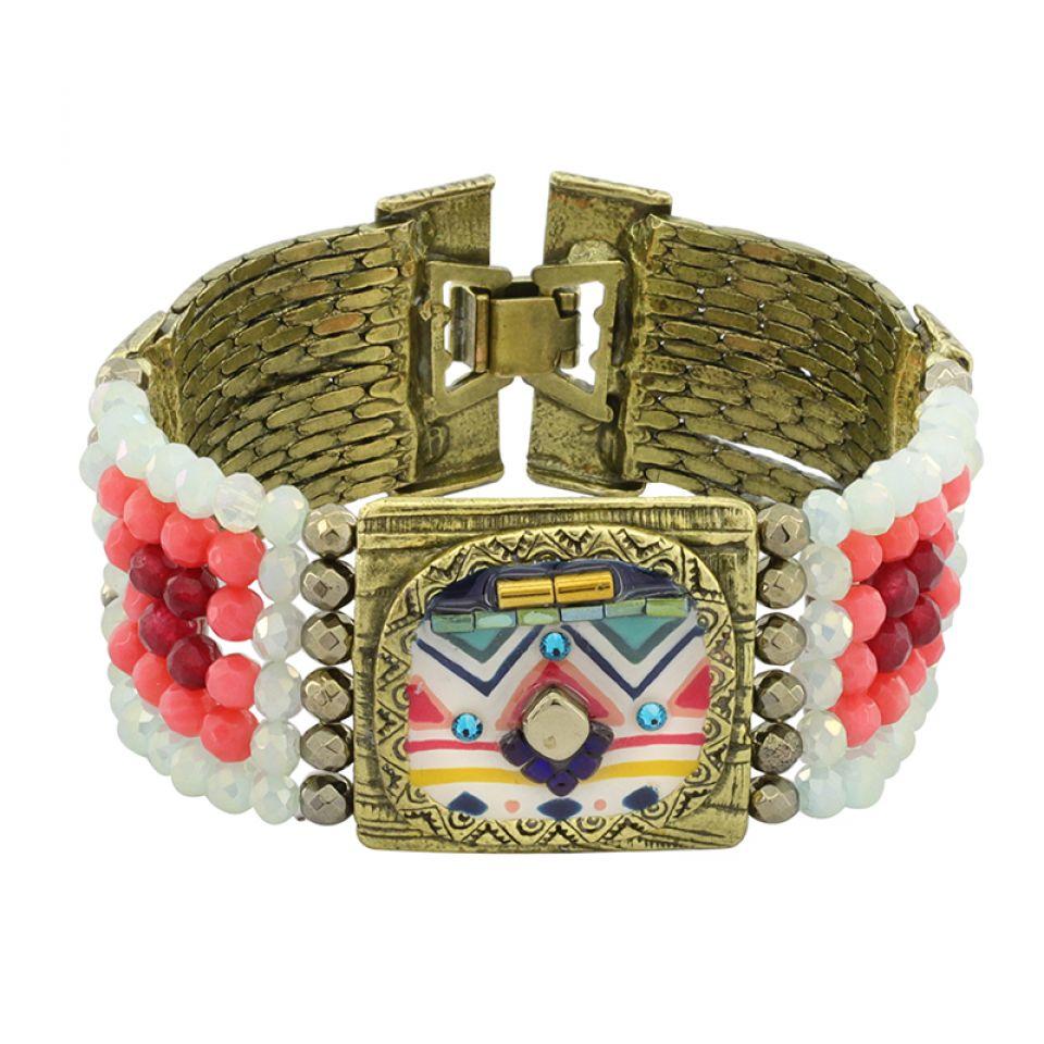 Bracelet Seville Bronze Multi Taratata Bijoux Fantaisie en ligne 2