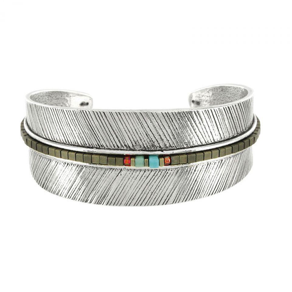 Bracelet Smocks Argent Multi Taratata Bijoux Fantaisie en ligne 2