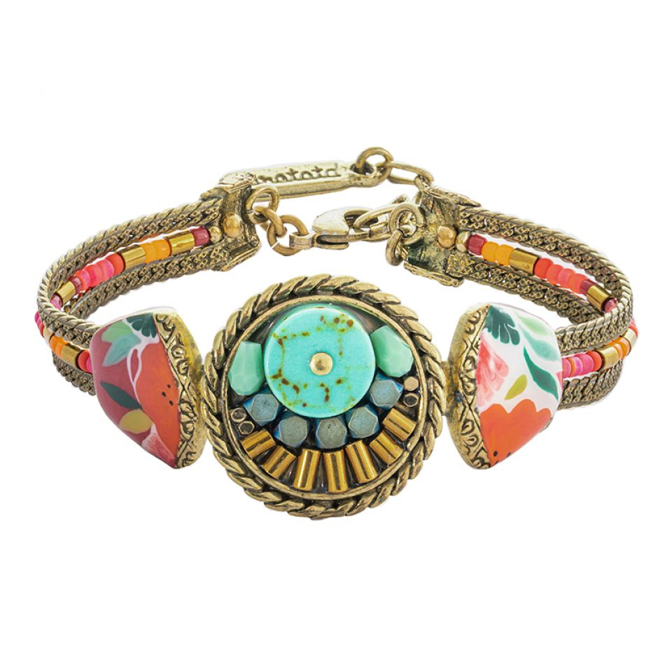 Bracelet Sombrero Bronze Multi Taratata Bijoux Fantaisie en ligne 1