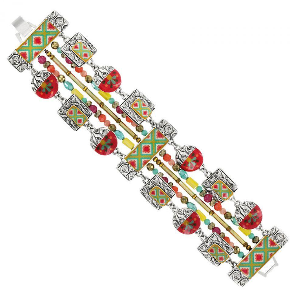 Bracelet Soupcon Argent Multi Taratata Bijoux Fantaisie en ligne 1