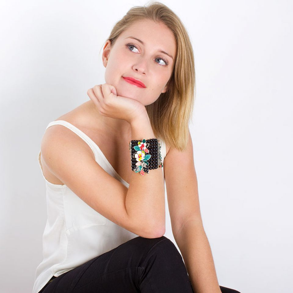 Bracelet Square Argent Multi Taratata Bijoux Fantaisie en ligne 2