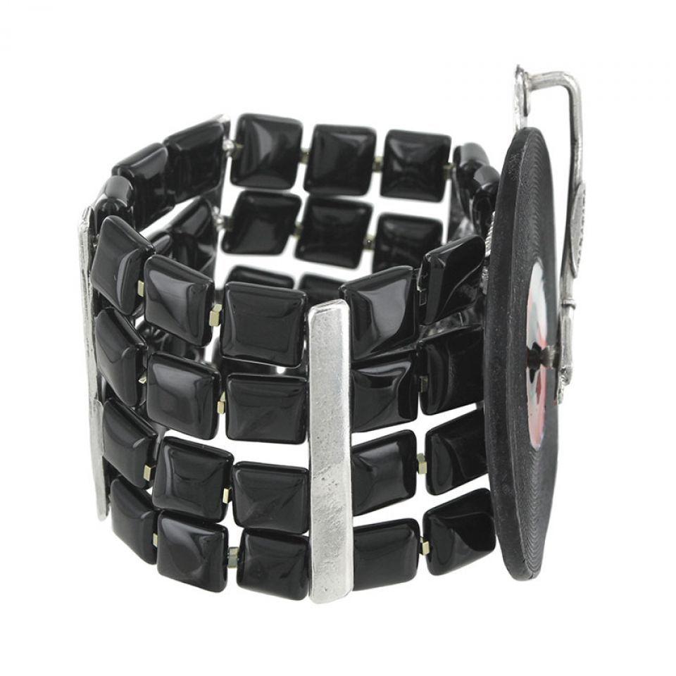 Bracelet Taraboum Argent Rouge Taratata Bijoux Fantaisie en ligne 2