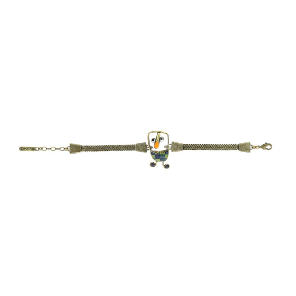 Bracelet Taraboum Bronze Vert Taratata Bijoux Fantaisie en ligne 3