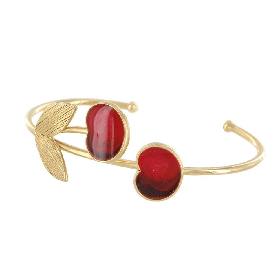 Bracelet Cherie Dore Rouge Taratata Bijoux Fantaisie en ligne 4
