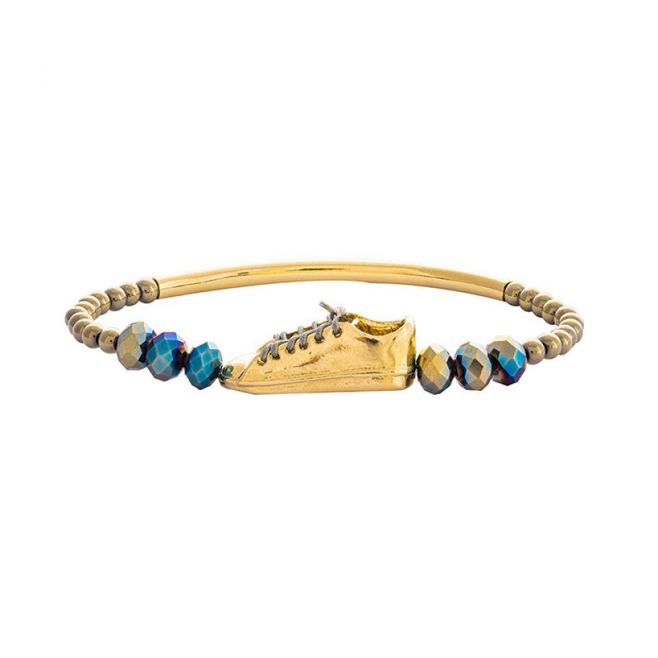 Bracelet Cours Toujours Dore Dore Taratata Bijoux Fantaisie en ligne 1
