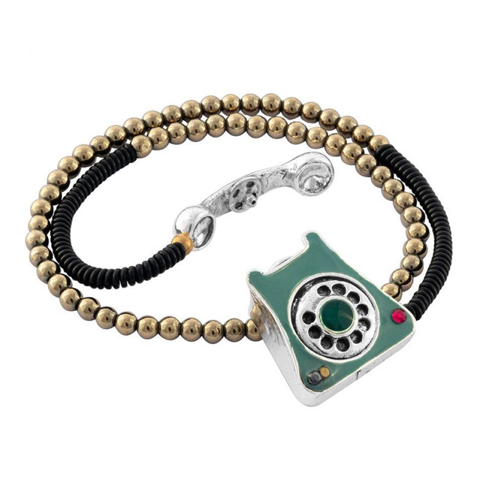 Bracelet Zero Six Couleur Argent Bleu Taratata Bijoux Fantaisie en ligne 3