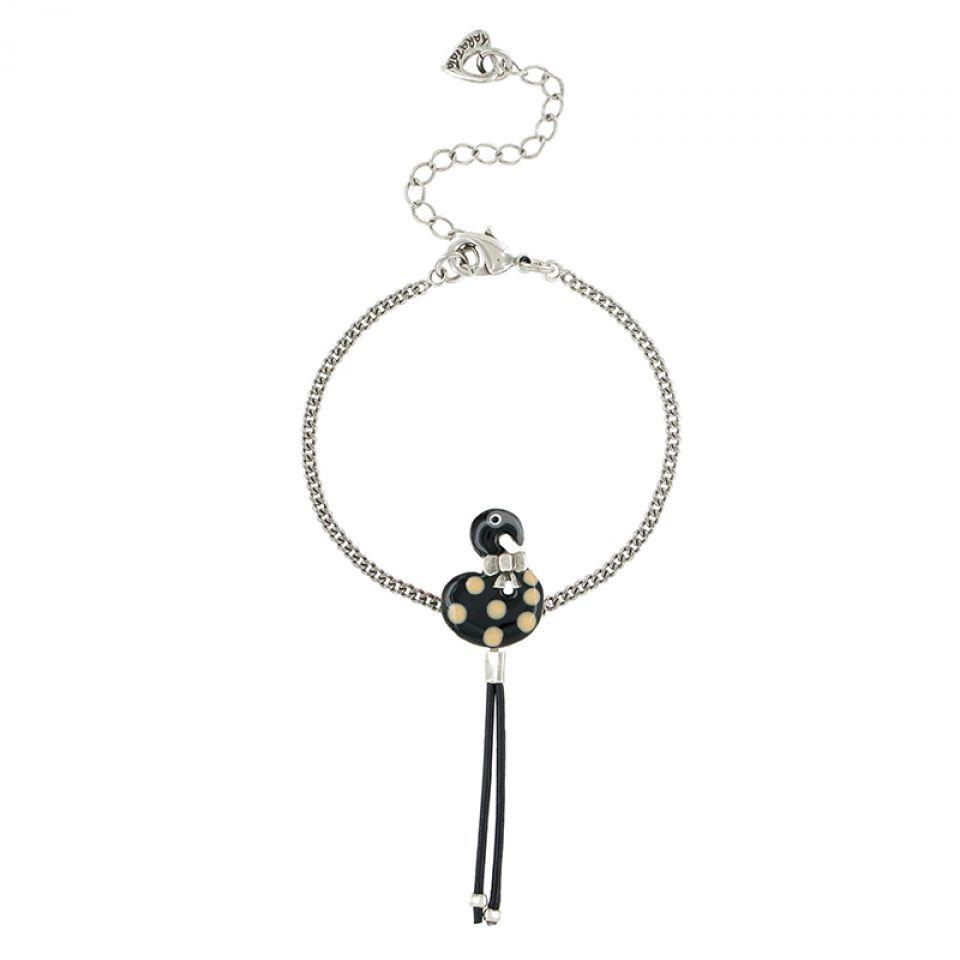 Bracelet Tarachou Noir Taratata Bijoux Fantaisie en ligne 1
