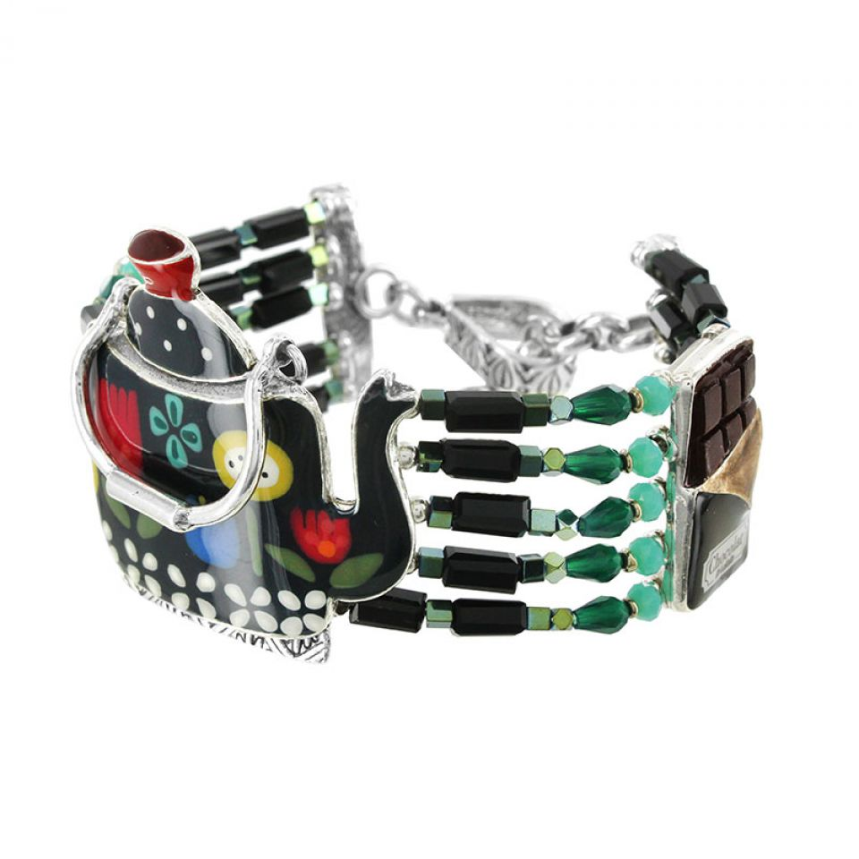 Bracelet Tea For Two Argent Multi Taratata Bijoux Fantaisie en ligne 4
