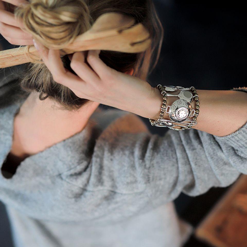 Bracelet Trois Etoiles Argent Argent Taratata Bijoux Fantaisie en ligne 2