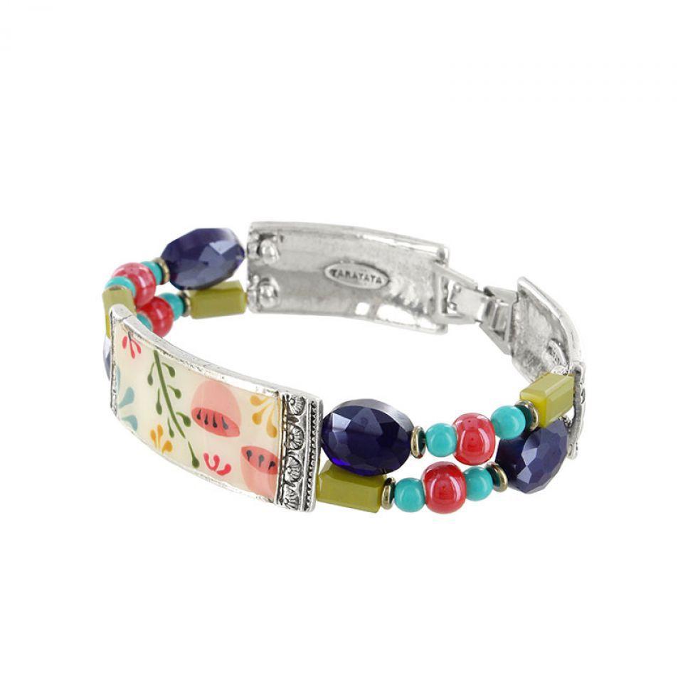 Bracelet Vagabonde Argent Multi Taratata Bijoux Fantaisie en ligne 3