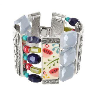 Bracelet Vagabonde Argent Multi