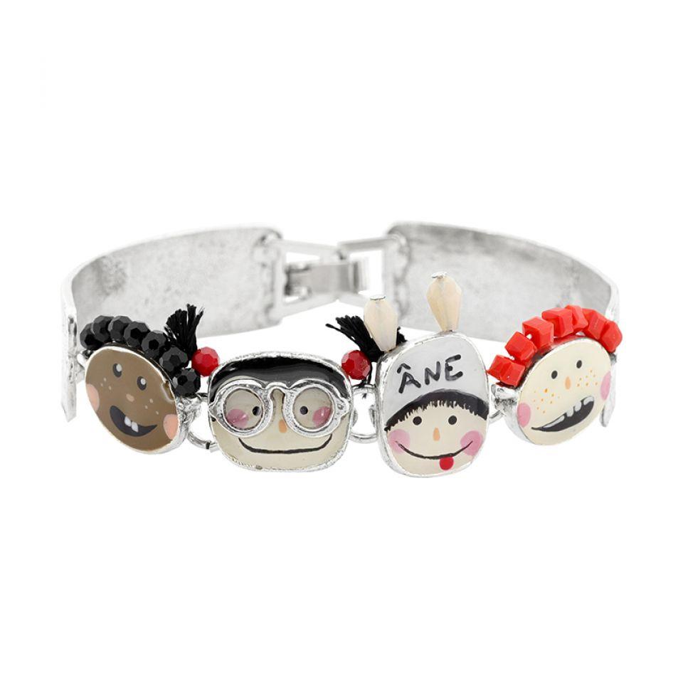 Bracelet Vive La Recre Argent Multi Taratata Bijoux Fantaisie en ligne 2